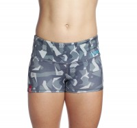 Booty Shorts Ladies Icon Asphalt