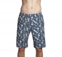 Muscleville Shorts Men Icon Panel Asphalt