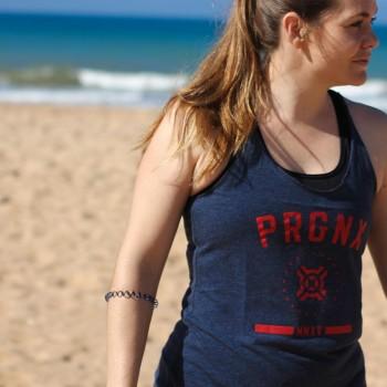 Progenex Tanks Ladies Stars Vintage (Navy)