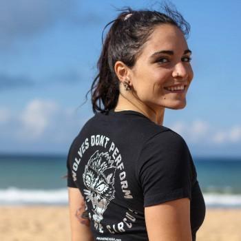 T-shirt Wolves Circus Femme
