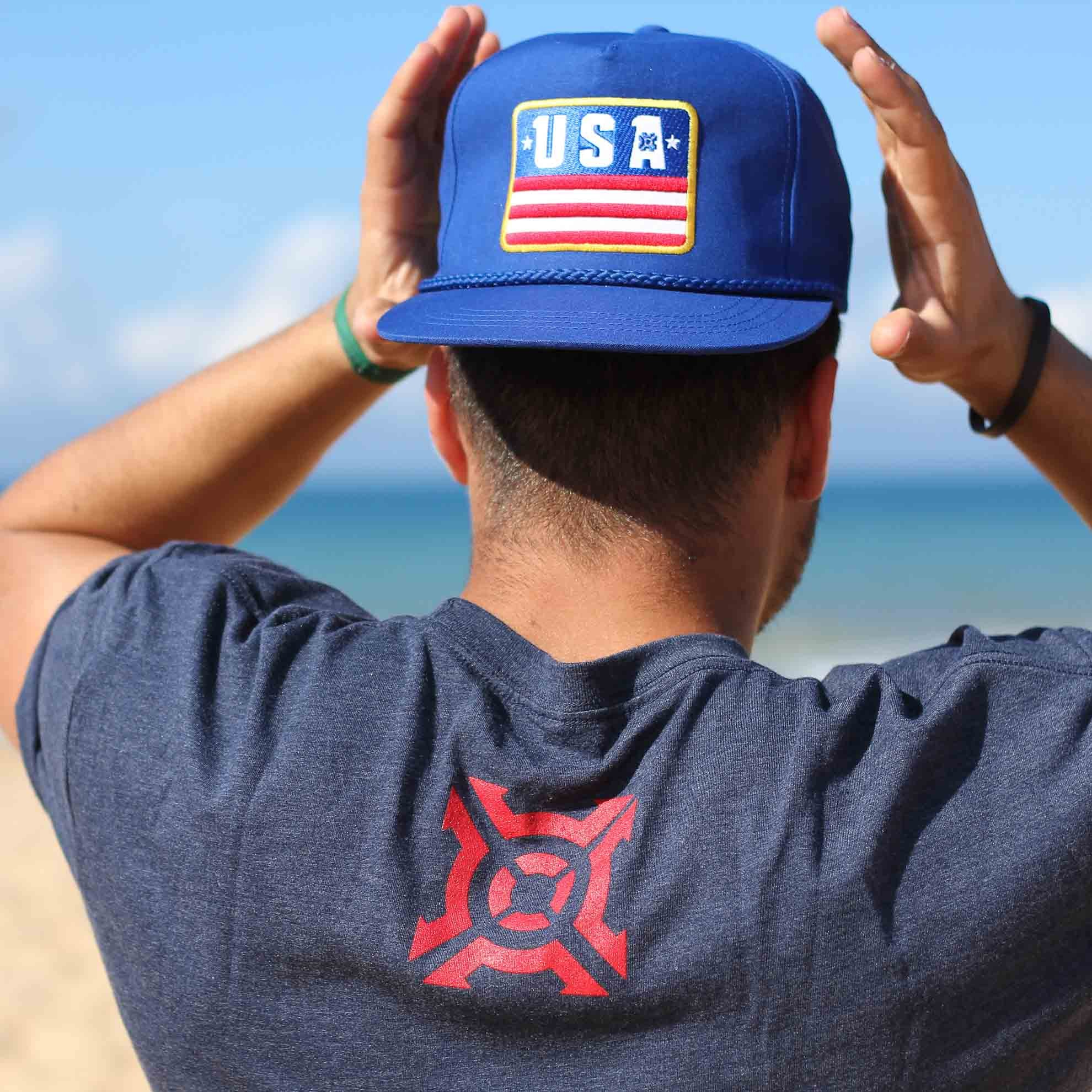 USA Poplin Snap Back