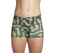 Booty Shorts Ladies Icon Woodland