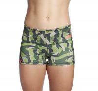 Booty Shorts Ladies Icon Woodland