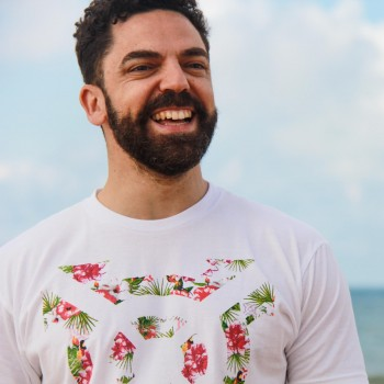 Men's PRGNX Floral Icon Tee
