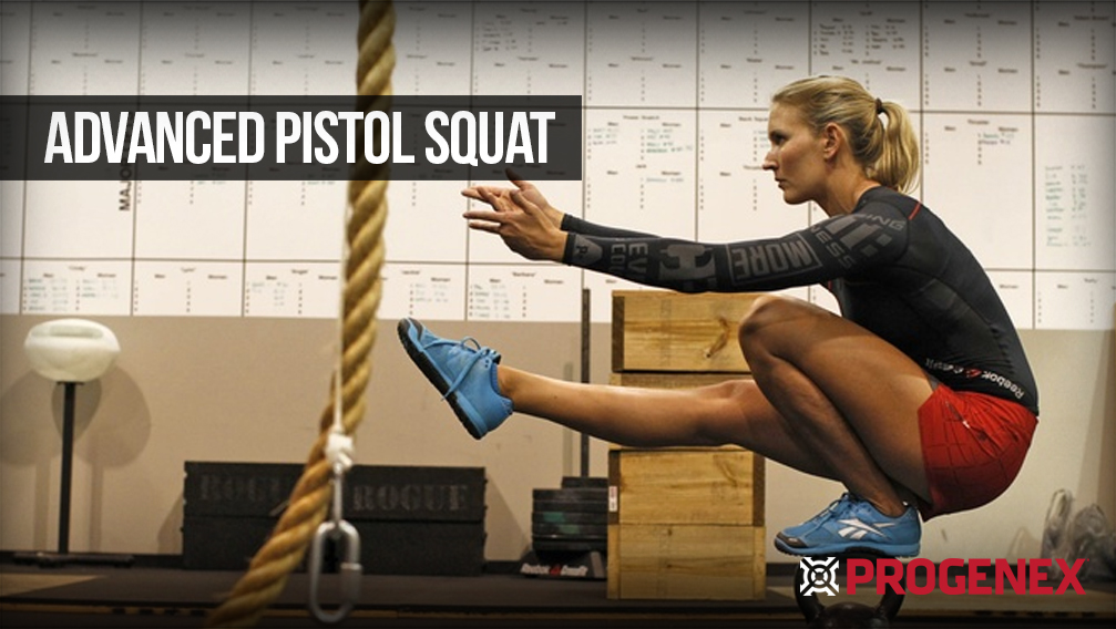 Five ways for CrossFitters to build on a basic Pistol Squat