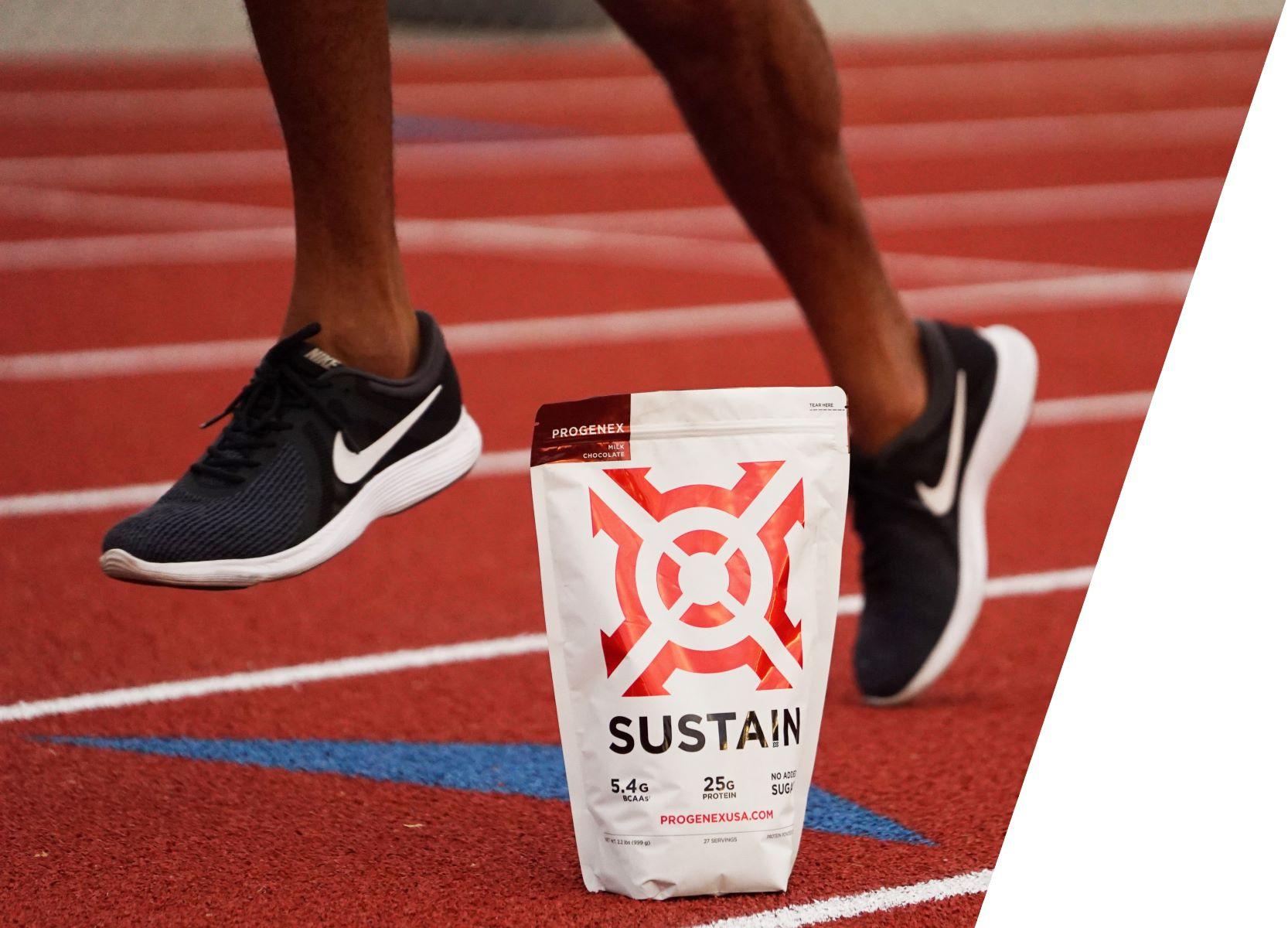 Progenex_whey_protien_isolate_Sustain_on_the_running_track