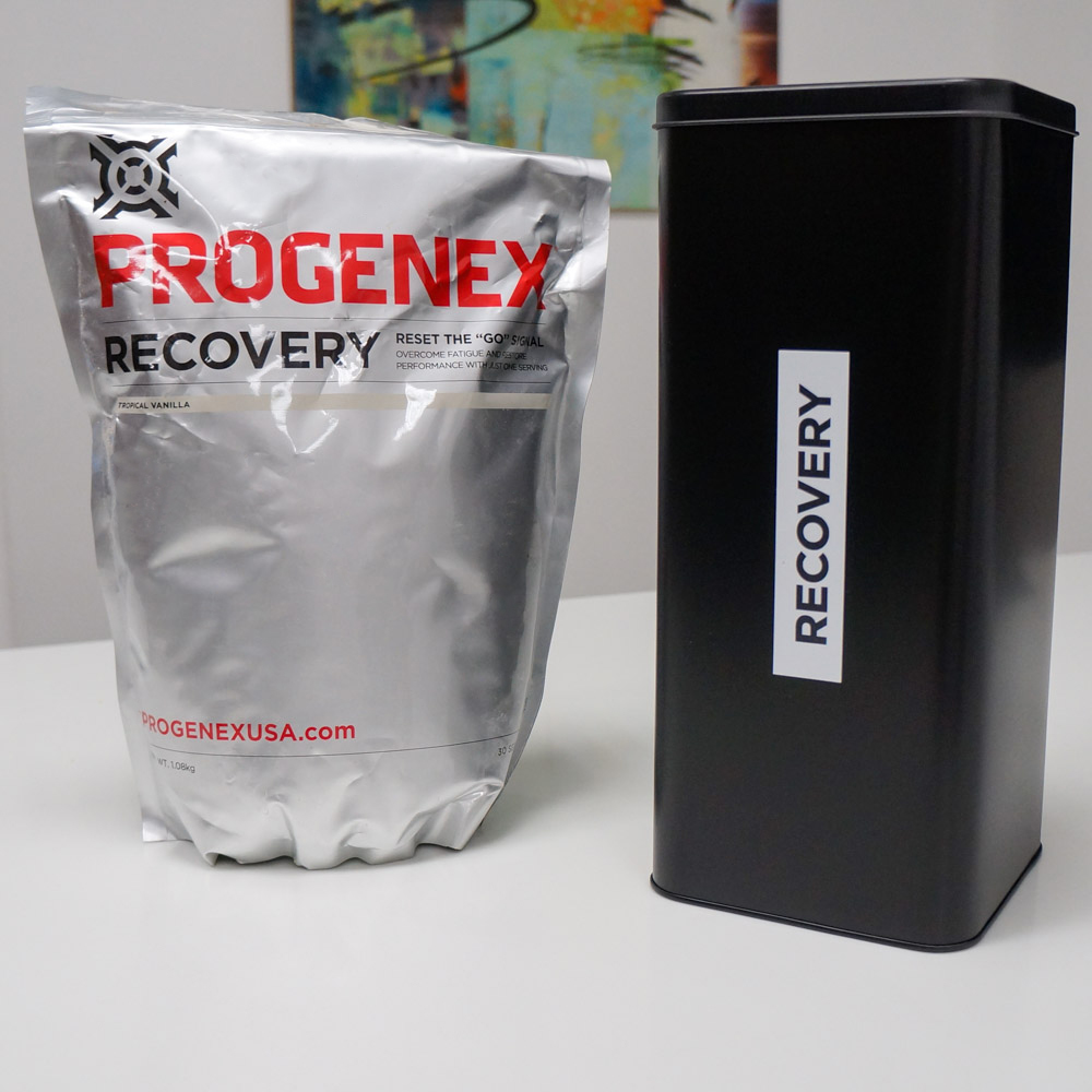 Progenex Powder Container the best way to store your Progenex protein